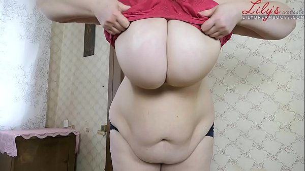 Dropping Fat Tits Out Of XXXL Bra