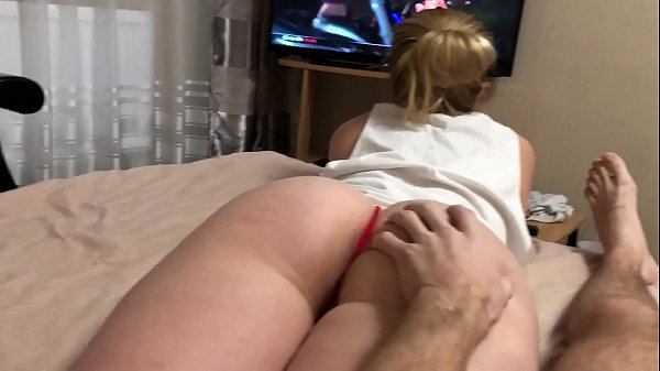 Dissatisfied step sister seduces brother with h...