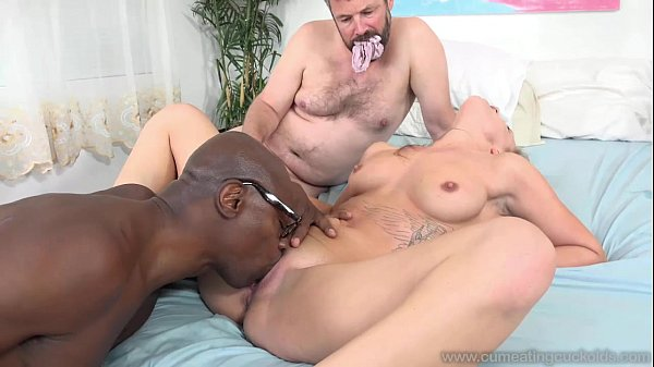 April Brookes cheats on her hubby with a black bull