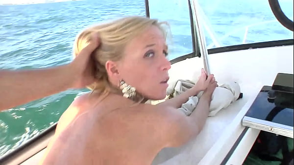 Boat trip with blowjob
