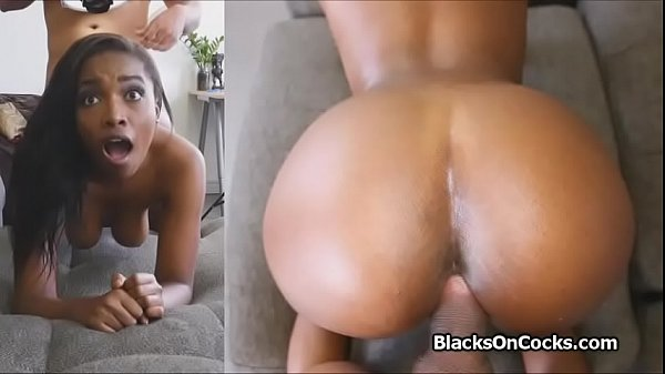 Oiled bigtit black babe fucked