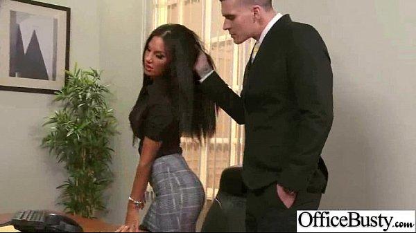 Slut Girl (elicia solis) With Big Boobs In Office Get Nailed clip-14