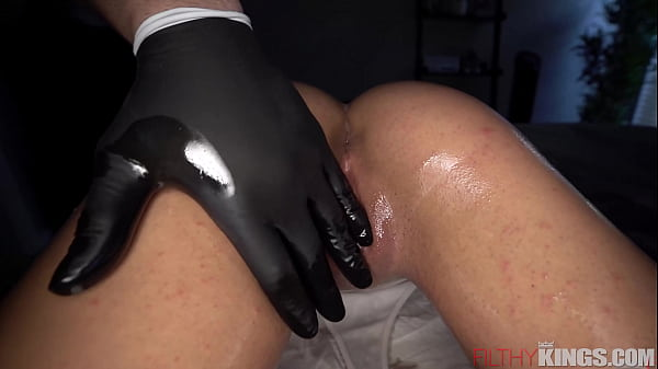 Brace Face Innocent Teen Oiled & Dicked Down Thumb