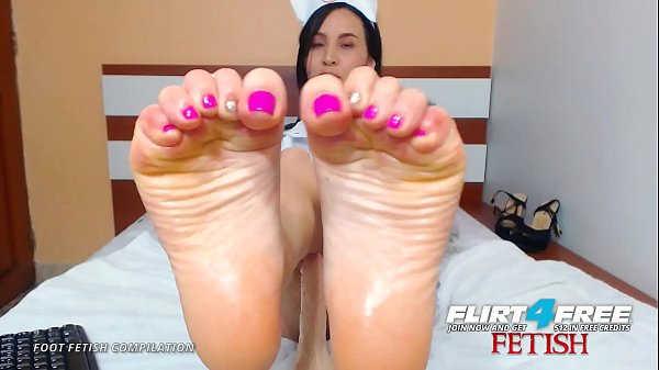 Flirt4Free Foot Fetish Compilation of Sexy Webcam Babes Thumb