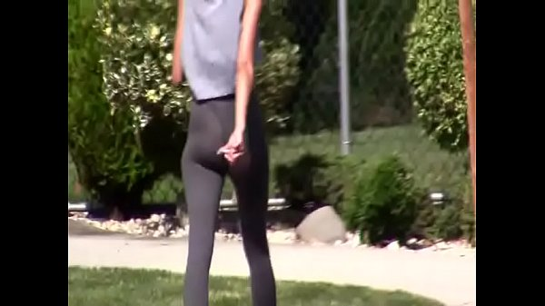hot chick with nice ass in yoga pants more at hotpornocams.com