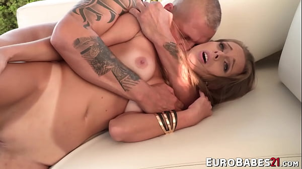 Bubble ass Kinuski filled up and fucked by Thomas Stone hard