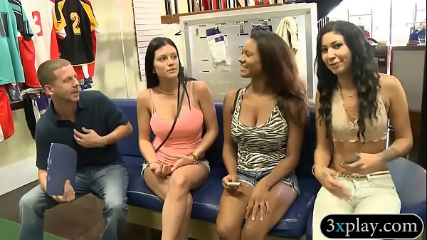Hot girls convinced to flash their tits for som...