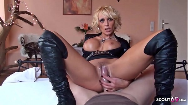 German Big Tits Mom Kada Love at POV Police Woman Roleplay