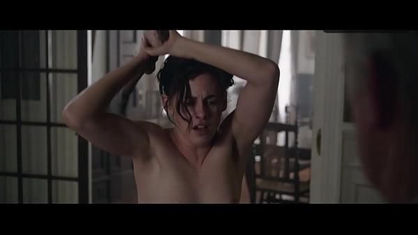 Kristen Stewart breasts scene in Lizzie