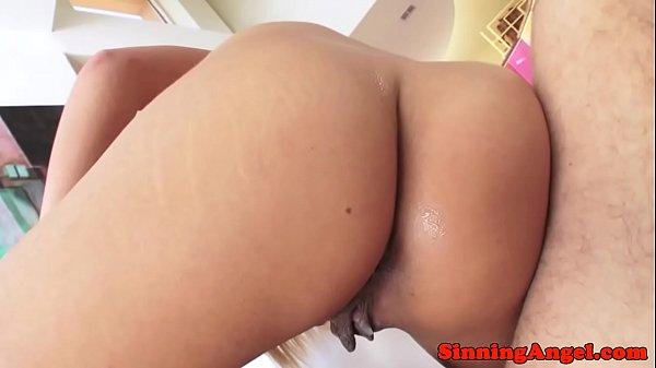 Glam pornstar pussyfucked in bikini