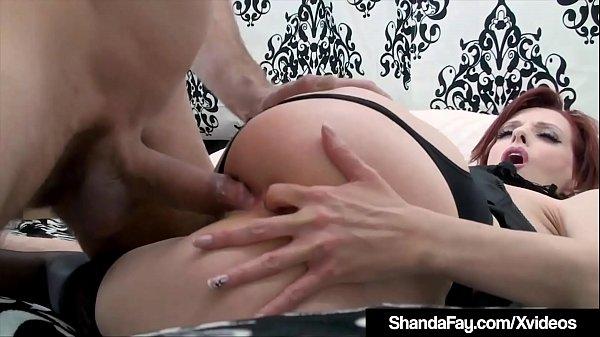 Horny HouseWife Shanda Fay Stuffs Muff & Gets Anal Fucked!