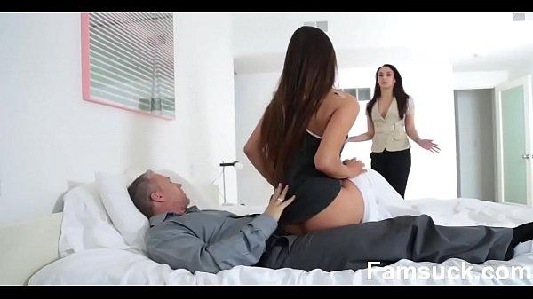 Horny Pretty Stepdaughter Sucks Dick To Skip school |FamSuck.com