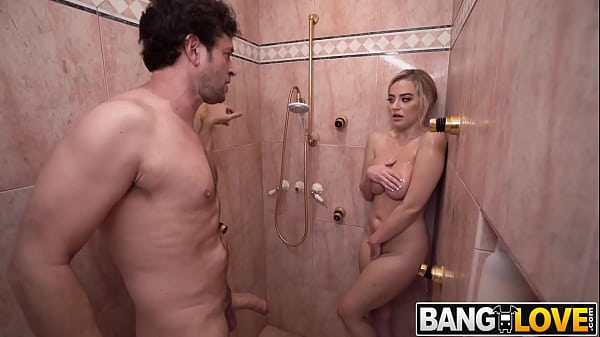 Blake Blossom Getting Dirty In the Shower