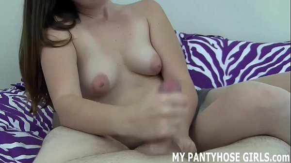 These nude nylon stockings are so sexy JOI Thumb
