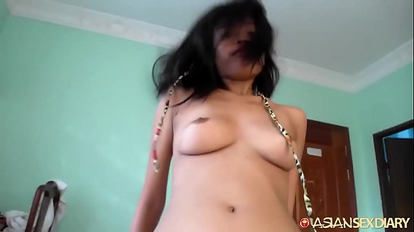 Tight Cambodian pussy fucked until deep dangerous creampie filling from white tourist