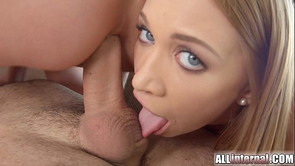 Allinternal threesome with gorgeous girls and l...