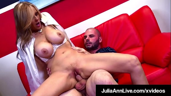 Hot For Teacher! Professor Pussy Julia Ann Fucks Her Pupil