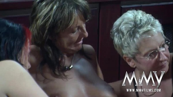 MMV FILMS German Lesbian Group Party