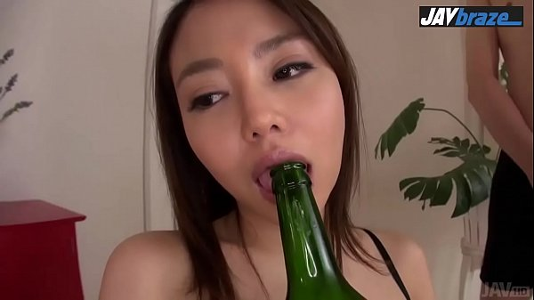 Asian blow job during threesome with hot Mao Miyabi javbraze.com
