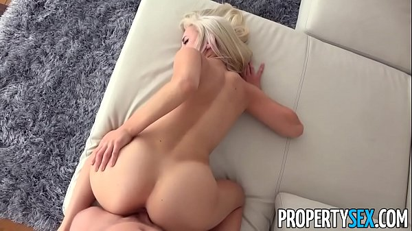 PropertySex - Sexy blonde real estate agent mixes business with pleasure Thumb