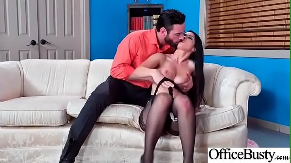Hard Sex Tape In Office With Naughty Busty Hot Girl (Katrina Jade) video-13