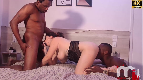 I was fucked by 2 black guys with the giant cock, and that's how I like it. My ass was destroyed.