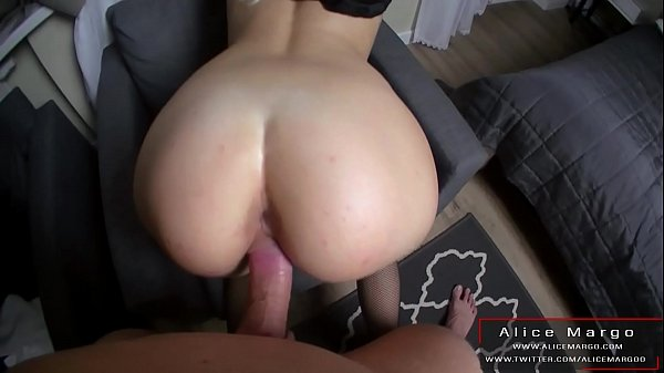 Ohh! This Sexy Nun Really Can Ride! Big Cum on Face! AliceMargo.com
