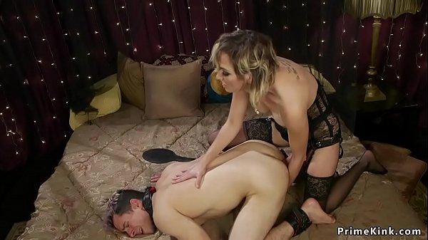 Guy Fucks Chastity Sissy