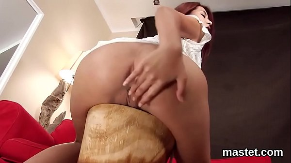 Slutty czech chick opens up her soft cunt to the unusual
