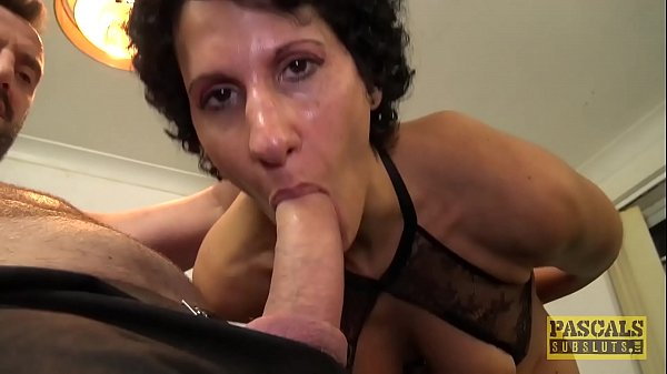 Cock craving English wench blasted with cock an...