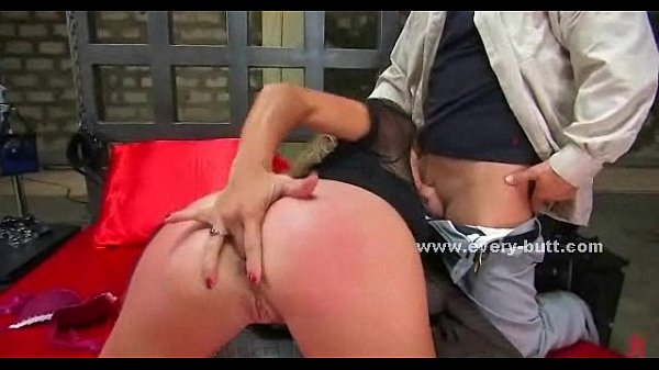 Strong man fucks slut in rough anal sex  thumbnail
