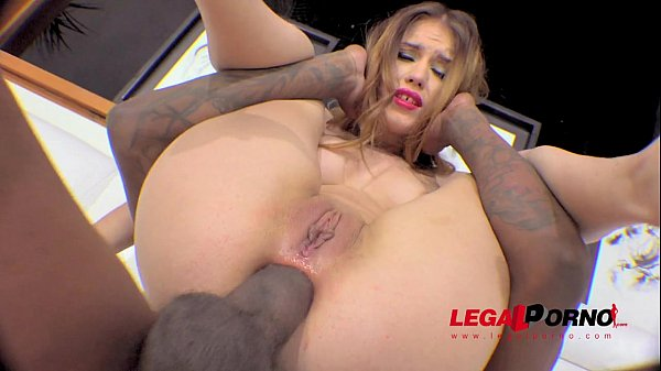 Ginger Fox ass fucked by BBC (interracial anal)...