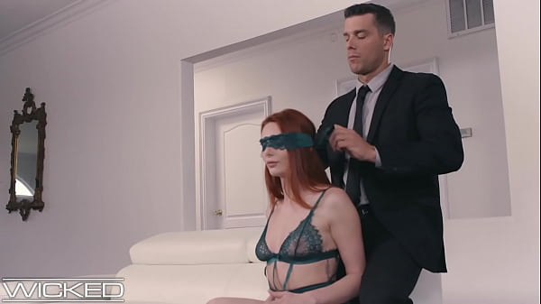 Wicked - Lacy Lennon Blindfolded & Facialed Thr...