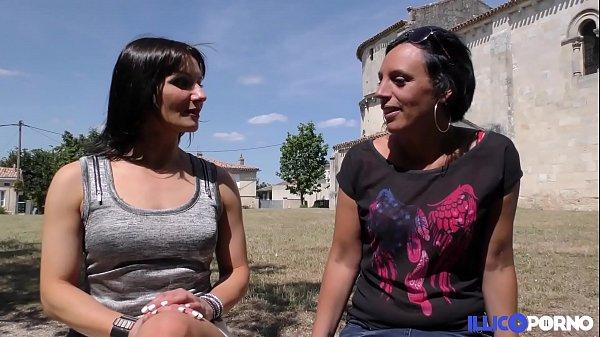 Cécile, la libertine, aime les caresses lesbiennes et les bites bien dures [Full Video]