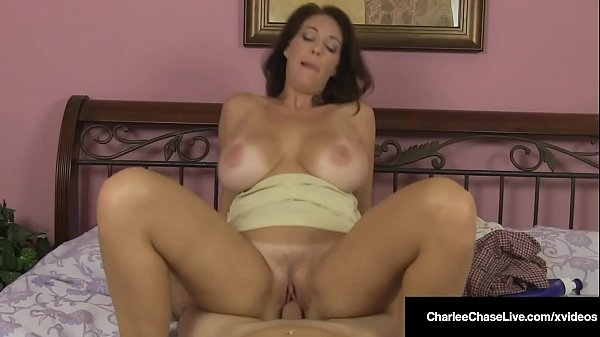 Big Titty Mommy Charlee Chase Rides Cock & Milk...