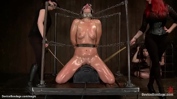 Blonde in pile driver bdsm anal toyed