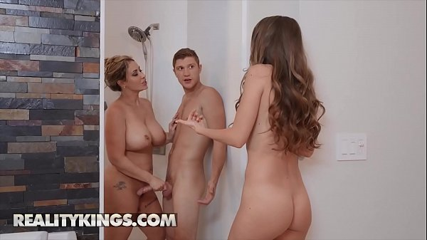 Hot Ladies (Kimmy Granger, Eva Notty) Fucks One Big Dick - Reality Kings