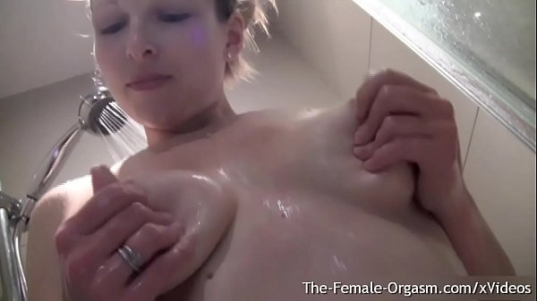 Blonde MILF has Nipple Hardening Pussy Pulsing Squirting Orgasms Post Shower
