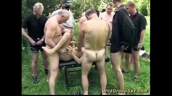 german garden party orgy