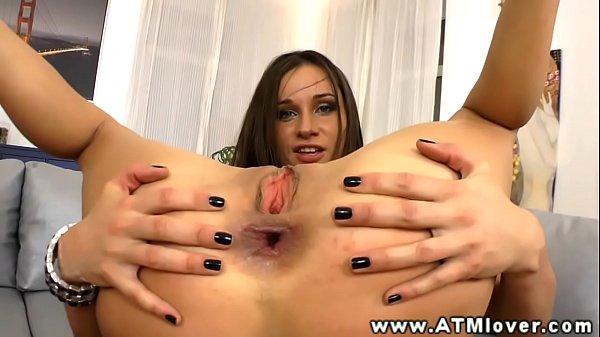 Irina Bruni enjoying ass to mouth fuck Thumb