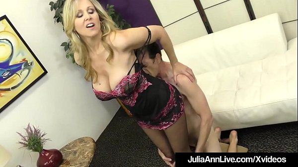 Award Winning Milf Julia Ann Foot Fucks A Hard ...