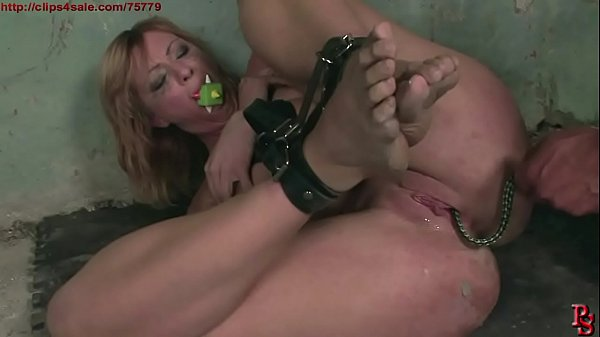 Gabriella's hard BDSM treatment, to be Master's obedient slave. BDSM movie. Thumb