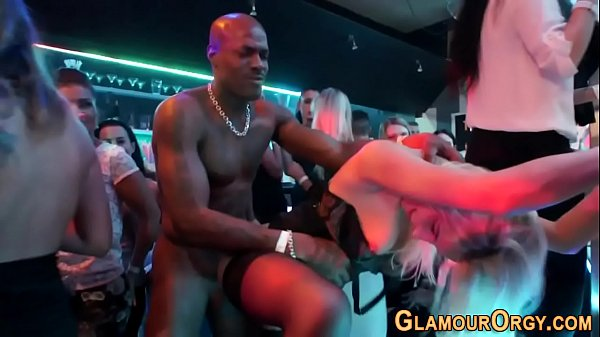 Classy sluts fuck at orgy