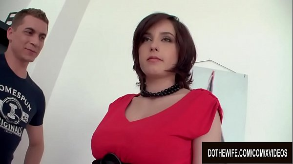 Wimp Husband Watches Busty Wife Ana Bell Evans Tit Fuck and Screw a Stud