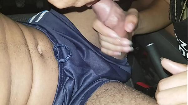 Mamando no carro