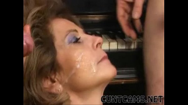 German Granny Loves Getting Coated in Cum - More at cuntcams.net Thumb