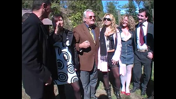 Hot sex picnic turn in a orgy directed by a dirty old man! Thumb