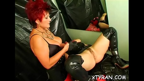 Sub guy tied up and butt fucked