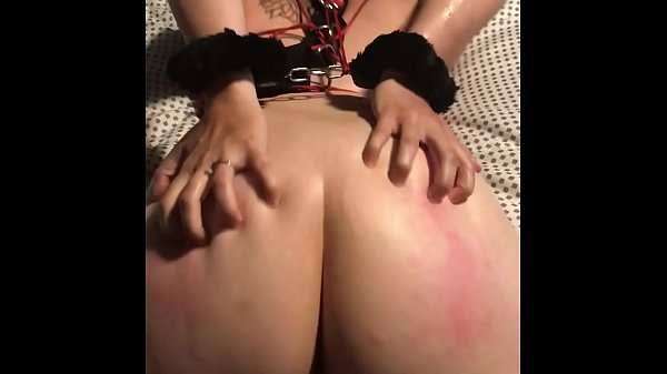 Tied up pawg whore wife and told her not to cum Thumb