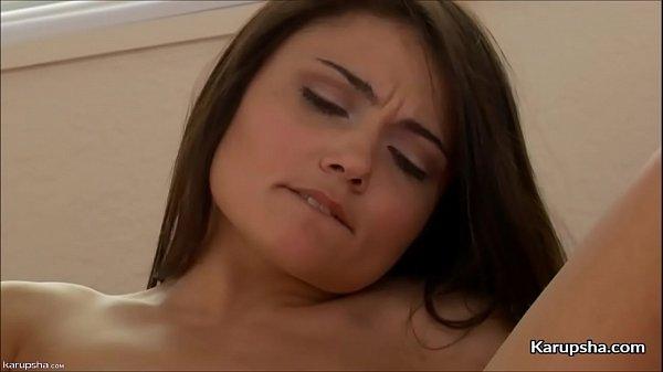 Adria Rae Masturbates With Vibrator